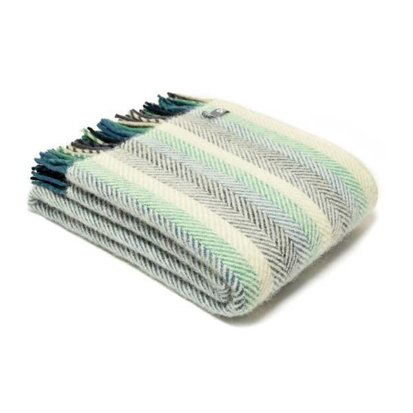National Trust Riverlands Fishbone Throw