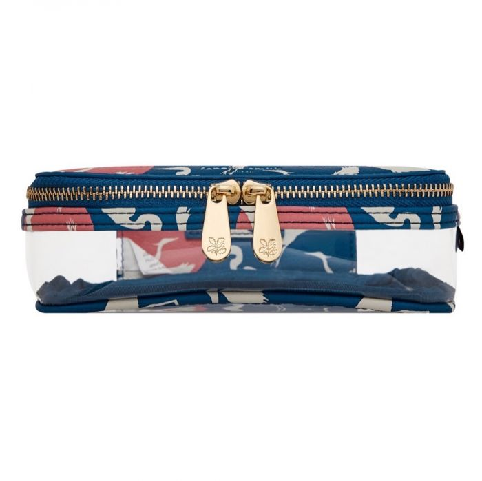 National Trust by Fenella Smith Heron & Moon Clear Travel Case