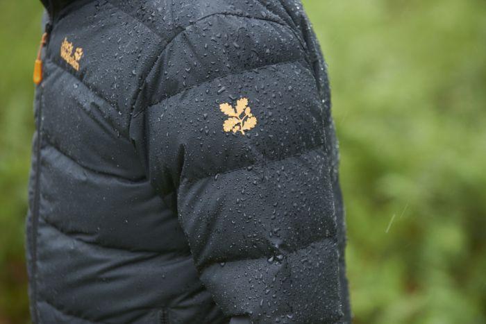 National Trust Jack Wolfskin Men's Polesden Jacket, Black