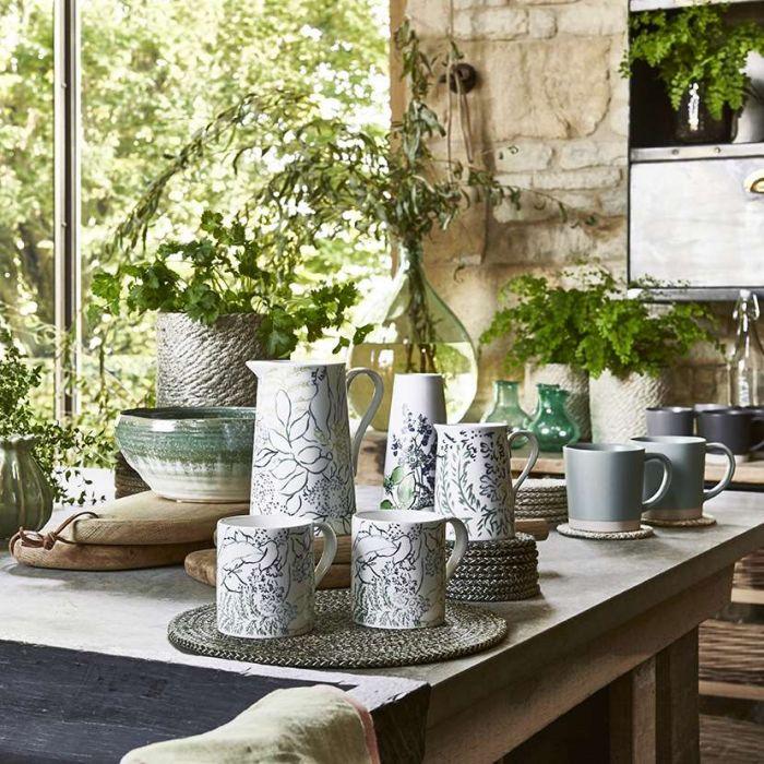Stoneware Mug, Celadon Green