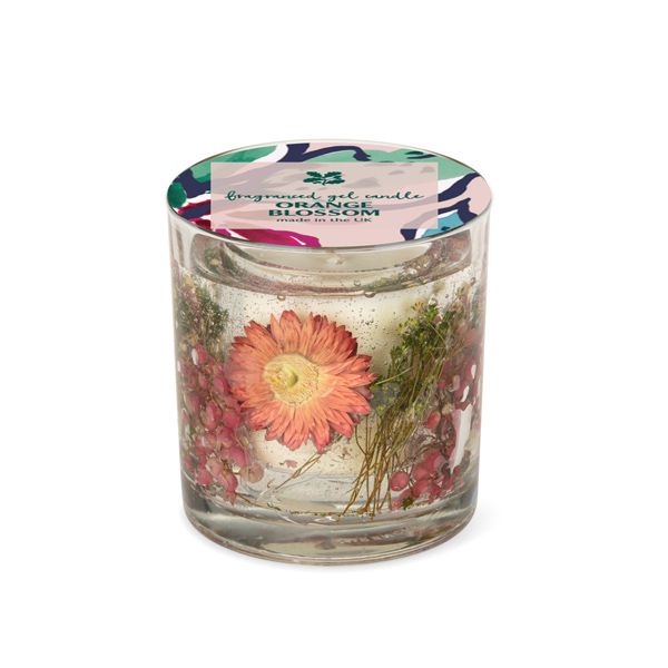 National Trust Orange Blossom Fragranced Gel Candle