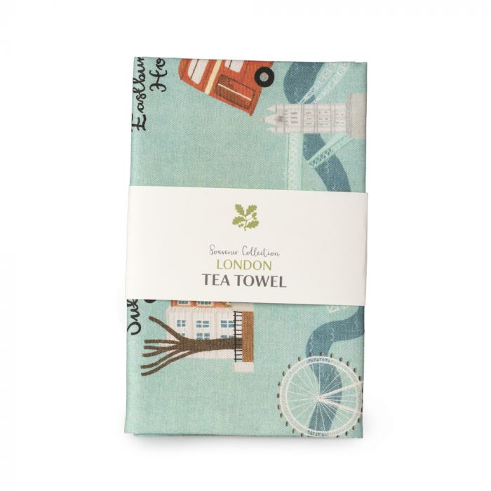 National Trust London Cotton Tea Towel