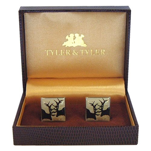 Tyler and Tyler Stag Cufflinks