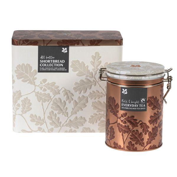 National Trust Shortbread Biscuit Tin