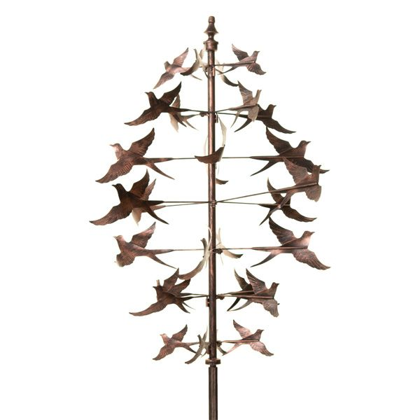Swallow Sculpture Wind Stake