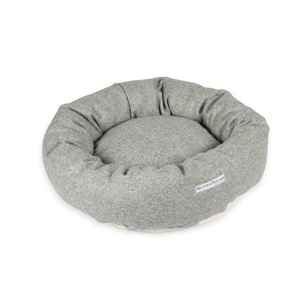 Stoneham Tweed Donut Dog Bed