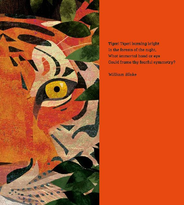 Tiger, Tiger, Burning Bright! An Animal Poem