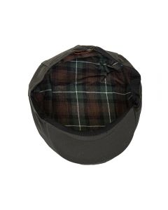Olive Green Waxed Cap, Medium