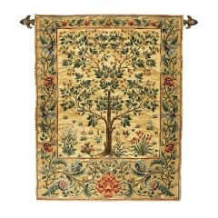 William Morris Tree of Life Tapestry Wall Hanging
