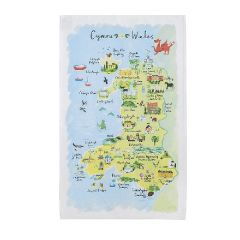 National Trust Wales Cotton Tea Towel