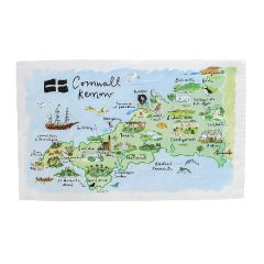 National Trust Cornwall Cotton Tea Towel