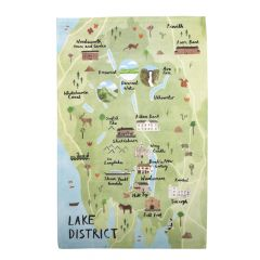 National Trust Lake District Cotton Tea Towel