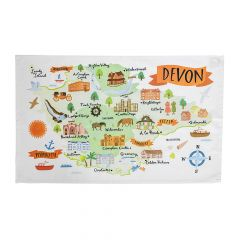 National Trust Devon Cotton Tea Towel