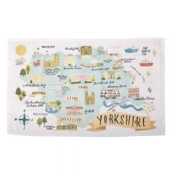 National Trust Yorkshire Cotton Tea Towel