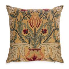 William Morris Tulips Tapestry Cushion