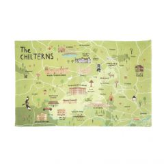 National Trust The Chilterns Cotton Tea Towel