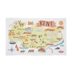 National Trust Kent Cotton Tea Towel