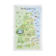 National Trust Northumberland Cotton Tea Towel