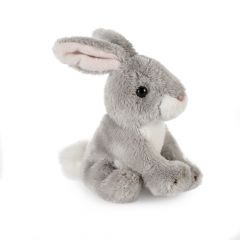 Grey Rabbit Soft Toy, Small