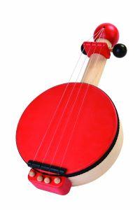 Children's Wooden Toy Banjo
