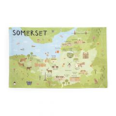 National Trust Somerset Cotton Tea Towel