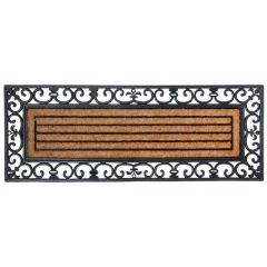 Extra Large Rubber and Coir Door Mat