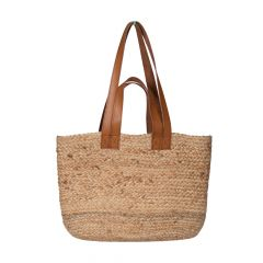 National Trust Basket Bag, Jute