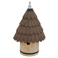 Timber Dovecote Bird House
