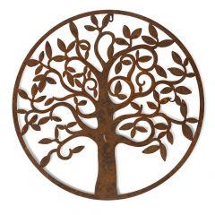 Large Round Tree Plaque
