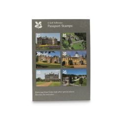 National Trust Grey Visitor's Passport Stamps 2019, Set of 6