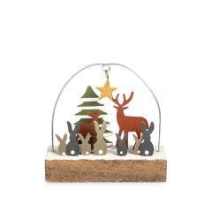 Christmas At The Warren Ornament, Wooden
