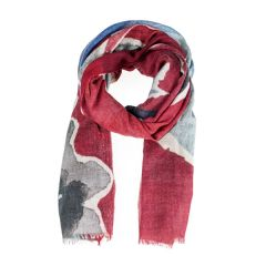 National Trust Scarf, Petworth, Red