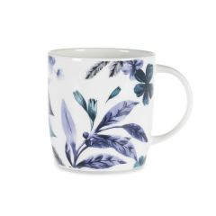 National Trust Petworth Trailing Floral Mug, Leaf