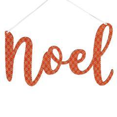 Noel Script Word, Scandi Red