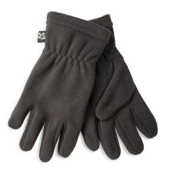 Junior Fleece Gloves, Black