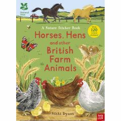 National Trust Nature Sticker Book: Horses, Hens and other Farm Animals