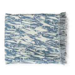 Sissinghurst River Grass Jacquard Throw
