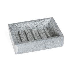 Granite Soap Dish, Grey