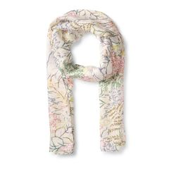 National Trust Silk Scarf, Nymans Foliage, Multicolour