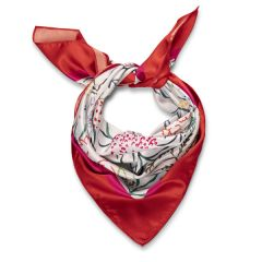 Nation Trust Square Scarf, Nymans Foliage