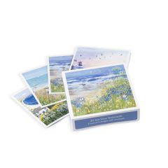 Lucy Grossmith Coastal Notecards, Set of 20