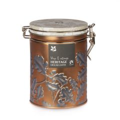National Trust Heritage Fairtrade Coffee Tin