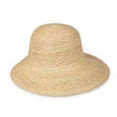 Woven Paper Bonnet Hat