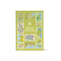 Regional Souvenir Postcard Book