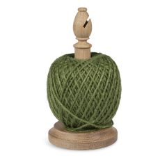 140m Green Twine with Oak Stand