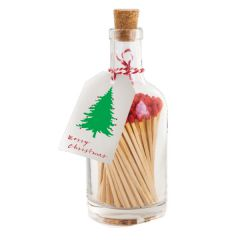 Christmas Matches in a Bottle