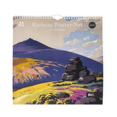 National Trust 2021 Railway Poster Art Calendar