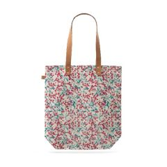 Sheffield Park Winter Berry Cotton Shopper Bag