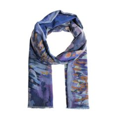 National Trust Recycled Polyester Scarf, Conwy Riverscape