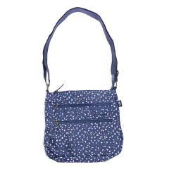 Conwy Pebbles Cross Body Bag, Navy